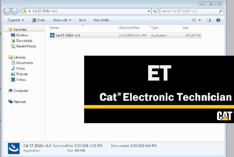CAT ET Software